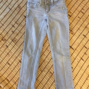 JUSTICE Gray Skinny Jeans girls sz 5R
